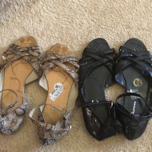 Chinese laundry sandals.